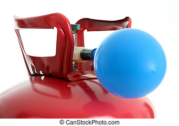 balloon, e, hélio