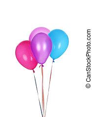 balloon, färgrik