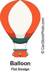 Balloon Flat Illustration