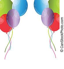 balloon, fundo
