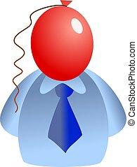 balloon, gezicht