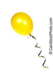 balloon, giallo