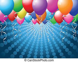 balloon, grafické pozadí