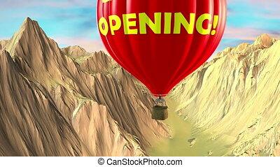 Balloon grand opening