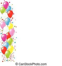 balloon, határ