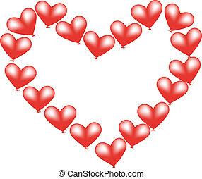 balloon heart 2