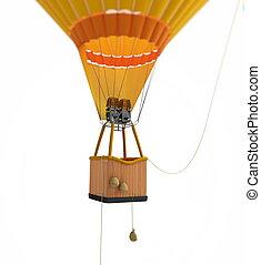 balloon, heißluft
