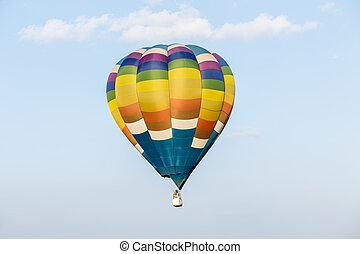 balloon, himmelsgewölbe, heißluft