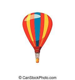 Balloon icon, cartoon style