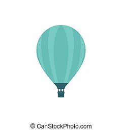 Balloon icon in vintage style