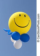 Balloon in a sky