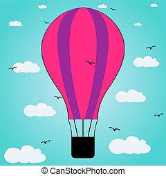 balloon in the sky