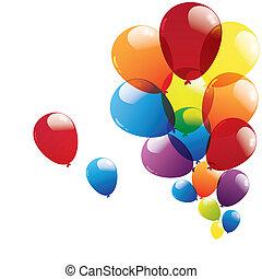 balloon isolated on white background