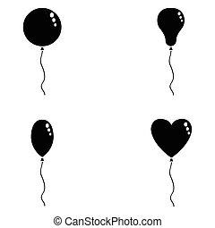 balloon, jogo, ícone