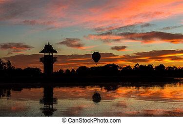 Balloon Lake Sunrise