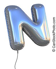 balloon, lettre n