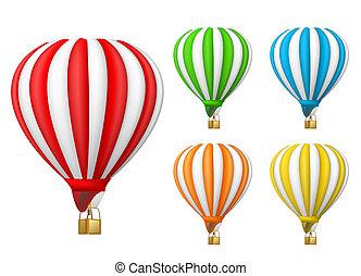 balloon, levegő