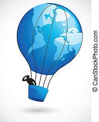 balloon, mondiale, air