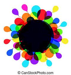 balloon, quadro