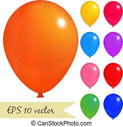 balloon, set