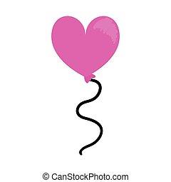 balloon shaped heart