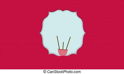 Balloon - Red balloon with heart shape, Animation Design, HD...