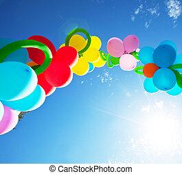 Balloon -  balloons on festival