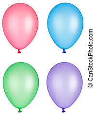 balloon toy childhood celebration fiesta - collection of...