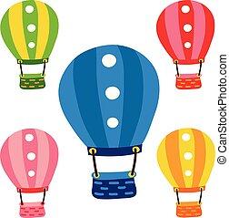 Balloon vector collection design