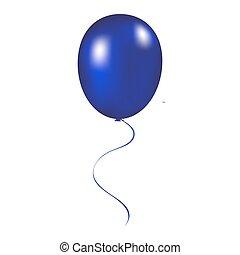 Balloon vector illustration on a white background