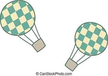 balloon, verhite-lucht