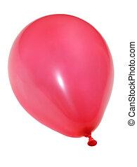 balloon, vermelho