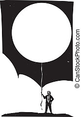 balloon, vide