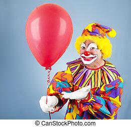 balloon, vous, clown