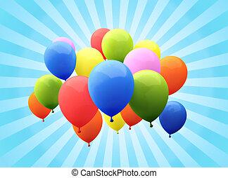 balloon's, סאנבארסט, רקע