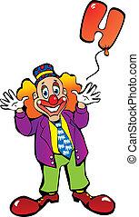 balloons., ピエロ