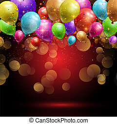 balloons and confetti background 1906