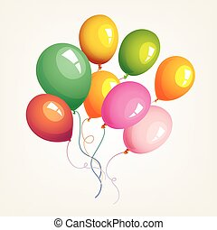 Balloons birthday party decoration