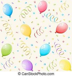 balloons., fondo