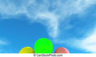 balloons - floating balloons