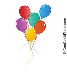 Balloons for birthday or celebration