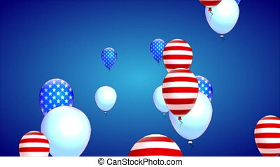 balloons for presidents day