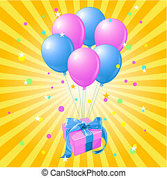 Balloons gift