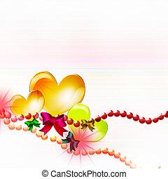 balloons., hearts.