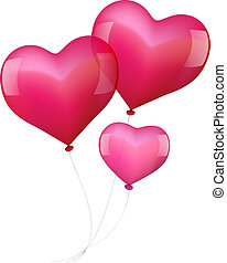Balloons in Love with Baby