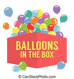Balloons In The Box.