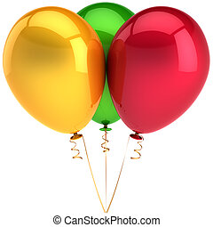 Balloons party decoration