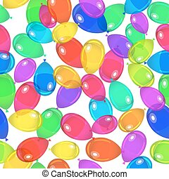 Balloons party happy birthday