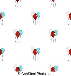 Balloons pattern seamless