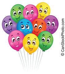 Balloons theme image 5 - eps10 vector illustration.